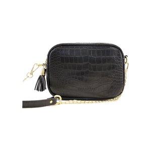 کیف دوشی زنانه چرم آرا مدل d059