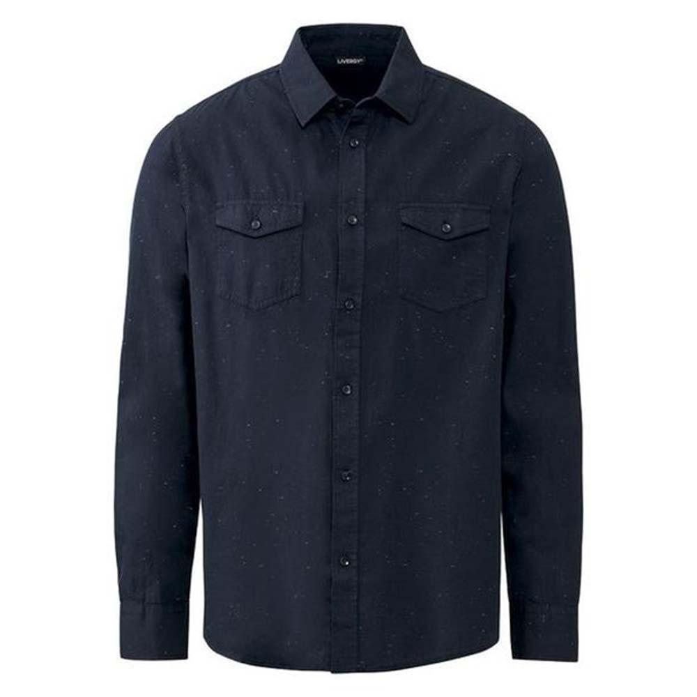 پیراهن آستین بلند مردانه لیورجی مدل hn164