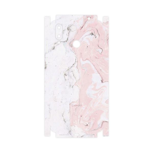 برچسب پوششی ماهوت مدل Blanco-Marble-FullSkin مناسب برای گوشی موبایل جی پلاس Q10