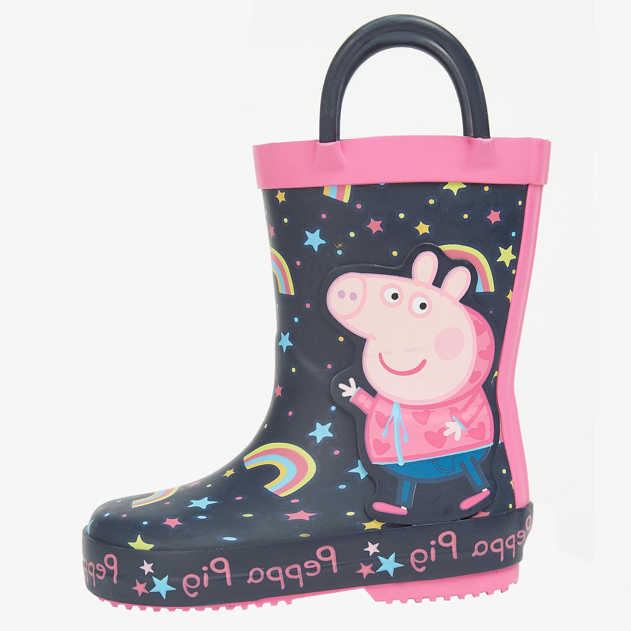 بوت دخترانه جورج مدل rain-boot