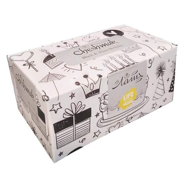 دستمال کاغذی 100 برگ چشمک مدل & Birthday