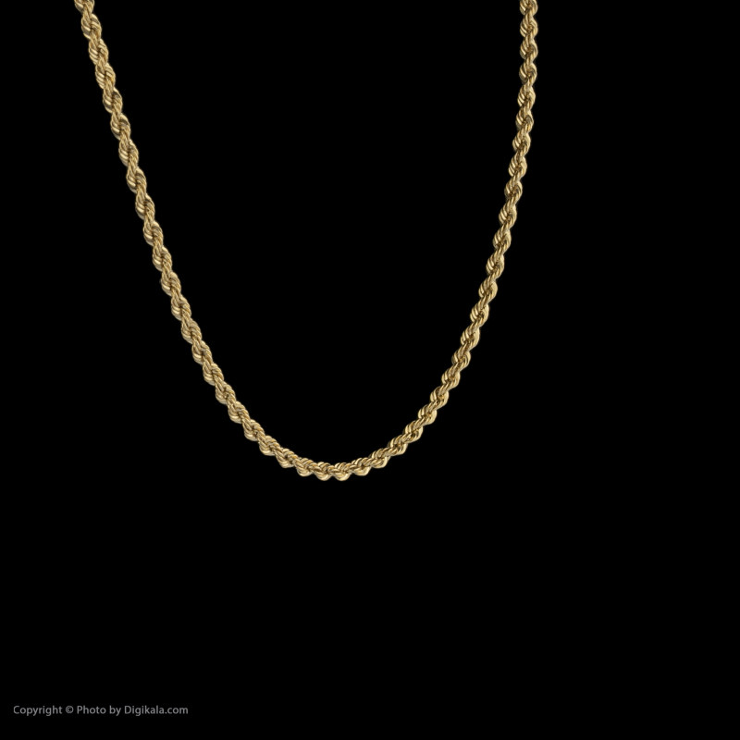 زنجیر طلا 18 عیار زنانه مایا ماهک مدل MM1070