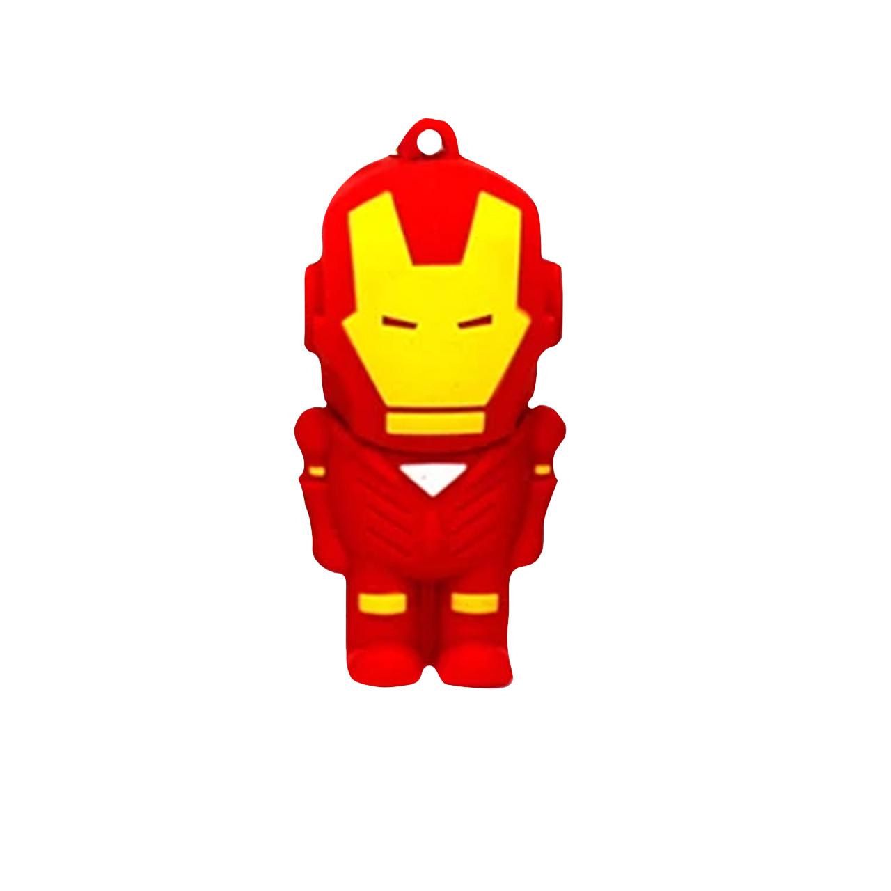 بررسی و خرید [با تخفیف]                                     فلش مموری طرح Ironman مدل DPL1163 ظرفیت 64 گیگابایت                             اورجینال