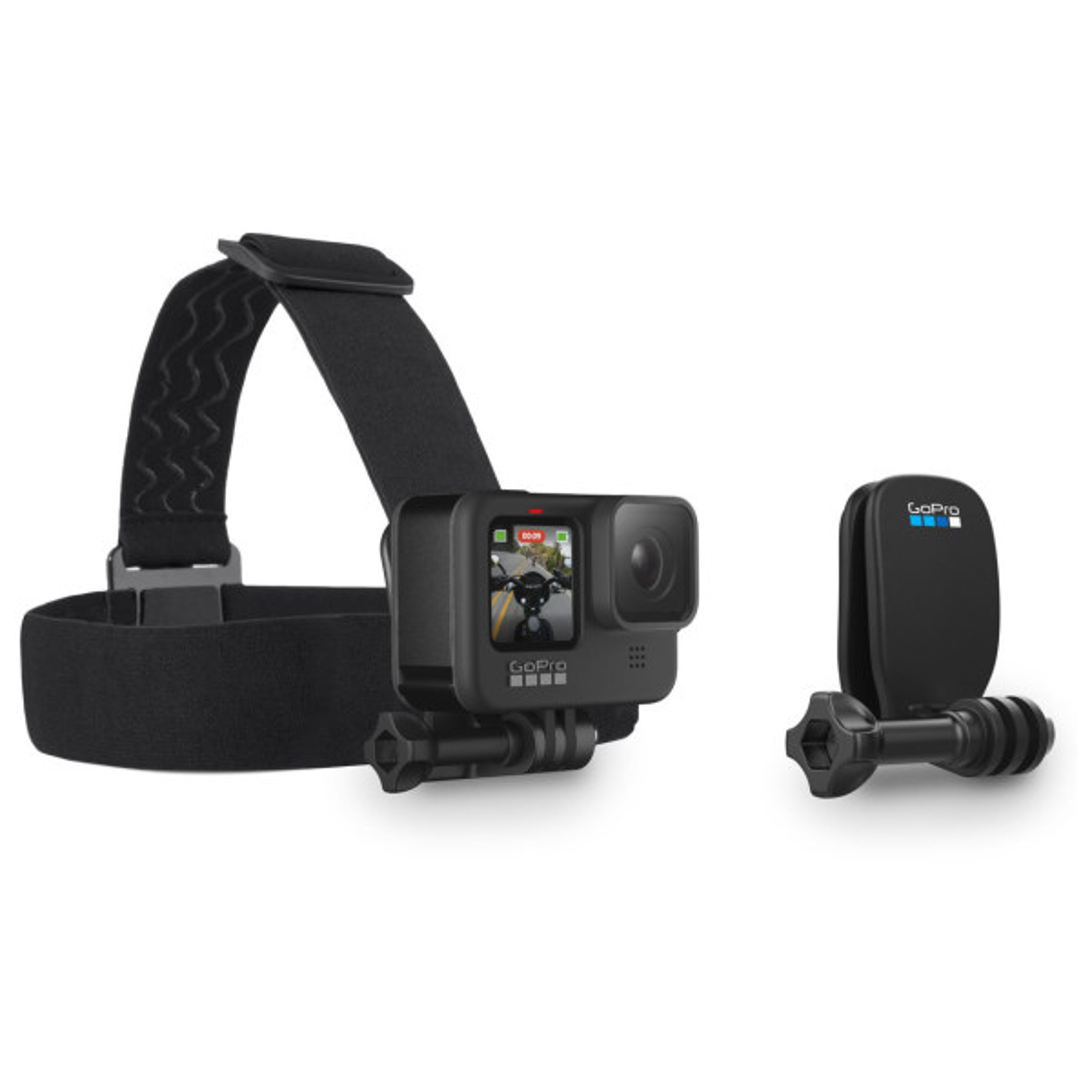 دوربین فیلم برداری ورزشی گوپرو مدل GOPRO HERO 9 همراه Gopro Head Strap