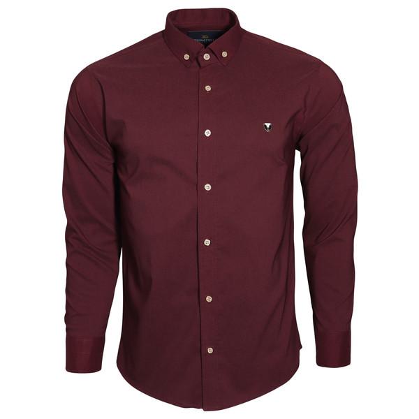 پیراهن آستین بلند مردانه مدل zk10023