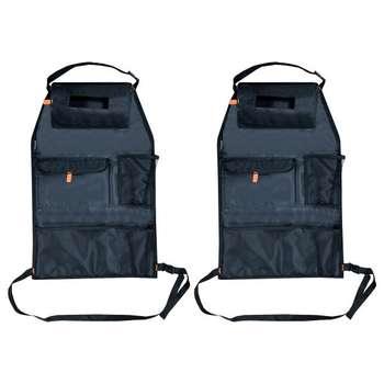 کیف پشت صندلی خودرو مدل F1مجموعه دو عددی