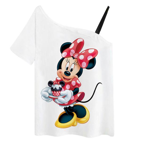 تی شرت زنانه مدل مینی موس کد f658b