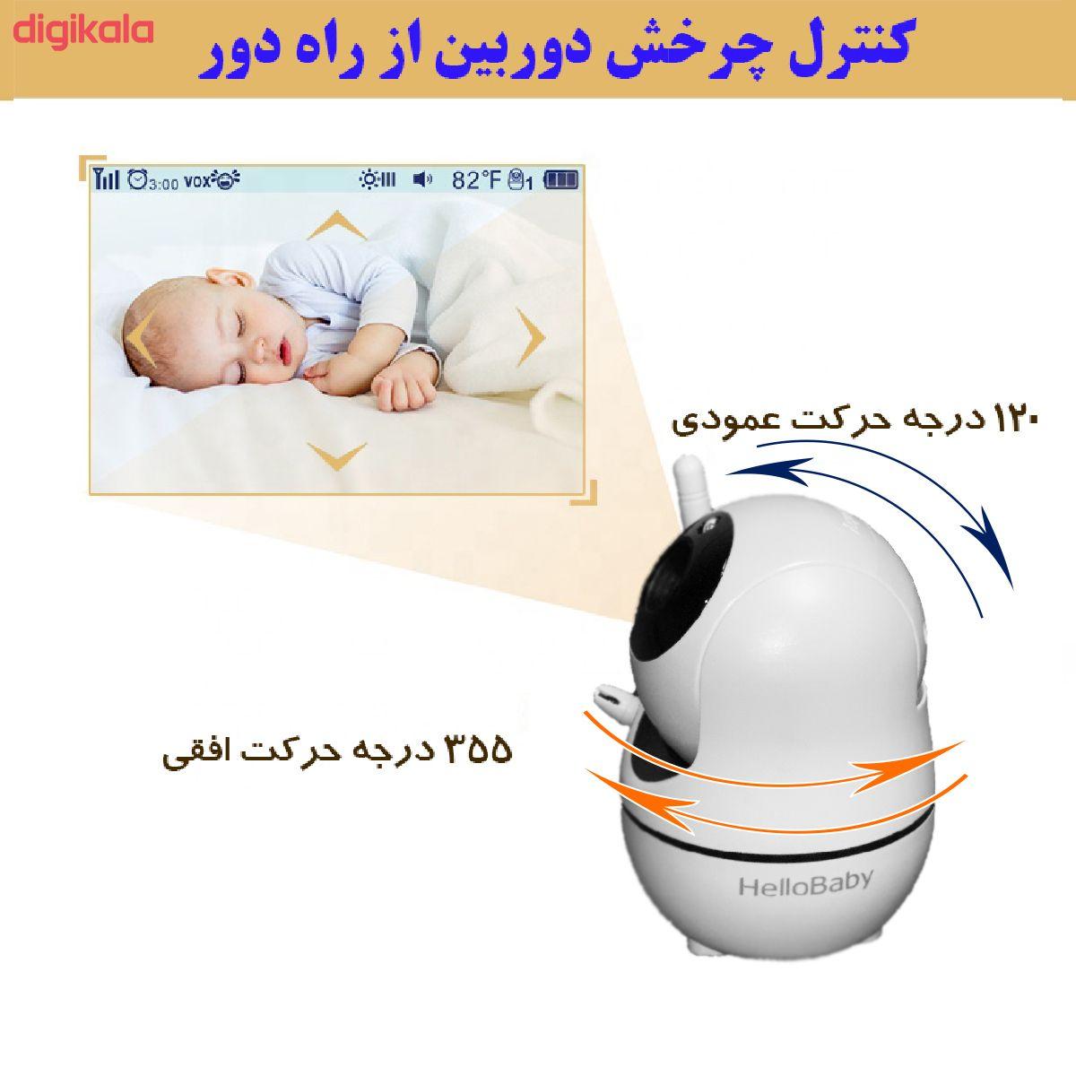 دوربین کنترل کودک هلوبیبی مدل HB66 main 1 2