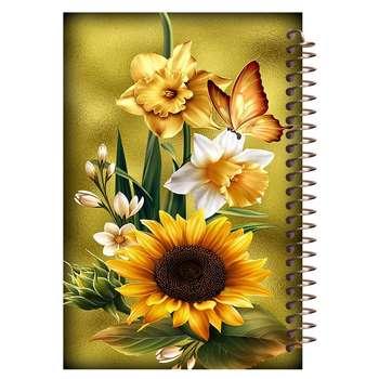 دفتر برنامه ریزی مشایخ مدل گل آفتاب گردون کد 0001