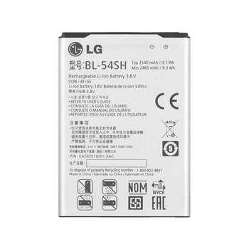 باتری موبایل مدل BL-54SH ظرفیت 2540 میلی آمپر ساعت مناسب برای گوشی موبایل ال جی Optimus F7