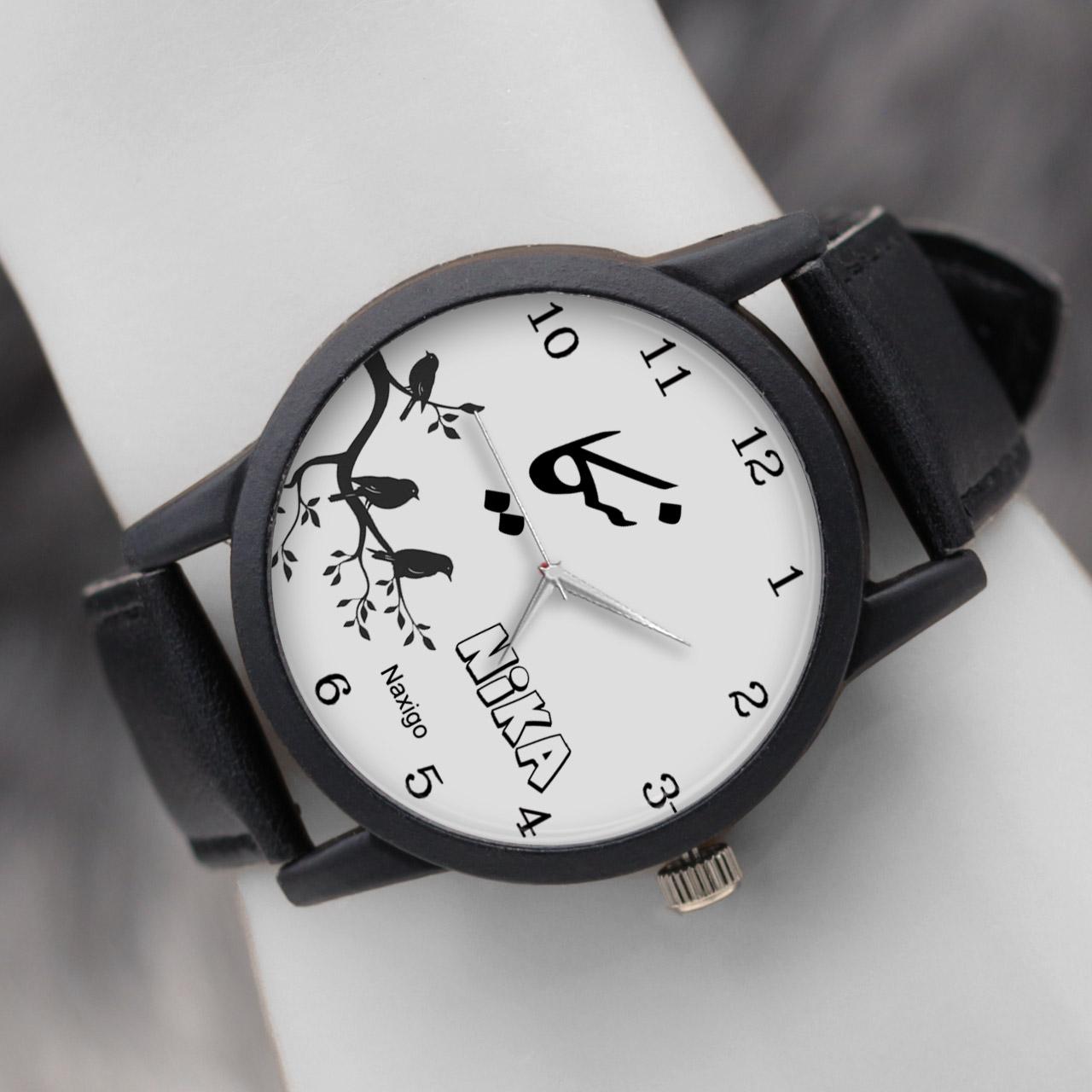 خرید و قیمت                      ساعت مچی  زنانه ناکسیگو طرح نیکا کد LF3409