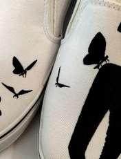 کفش روزمره زنانه دالاوین طرح پروانه کد V-30 -  - 2