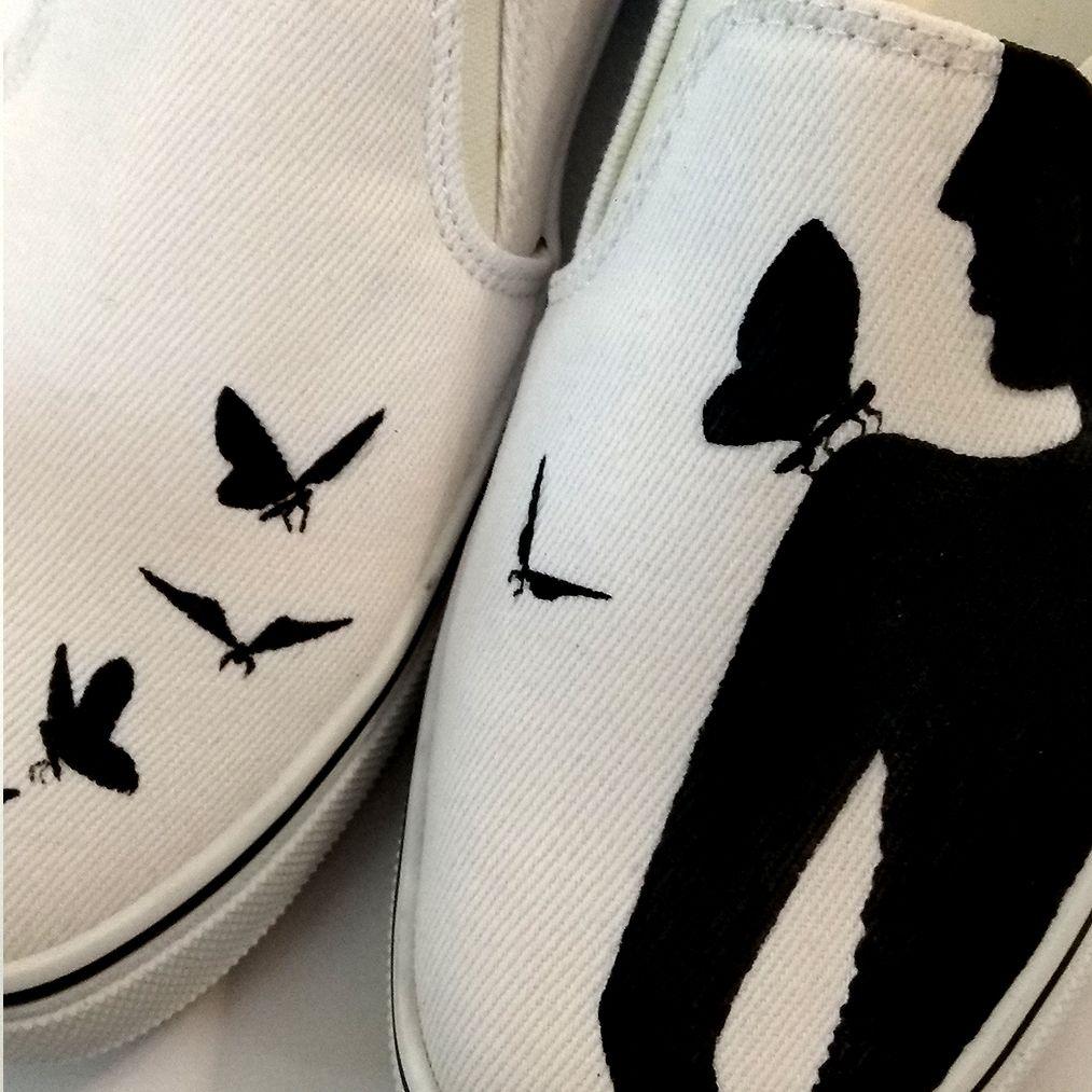 کفش روزمره زنانه دالاوین طرح پروانه کد V-30 -  - 3
