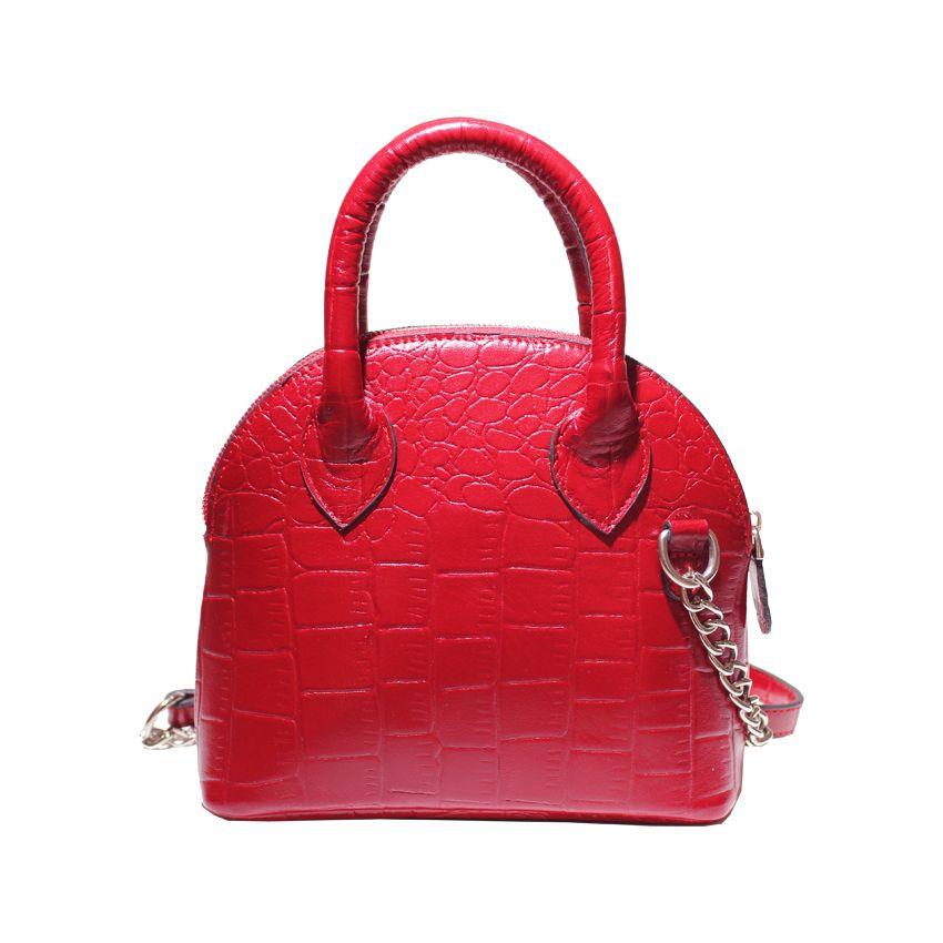 کیف دوشی زنانه چرم آرا مدل d076 -  - 19