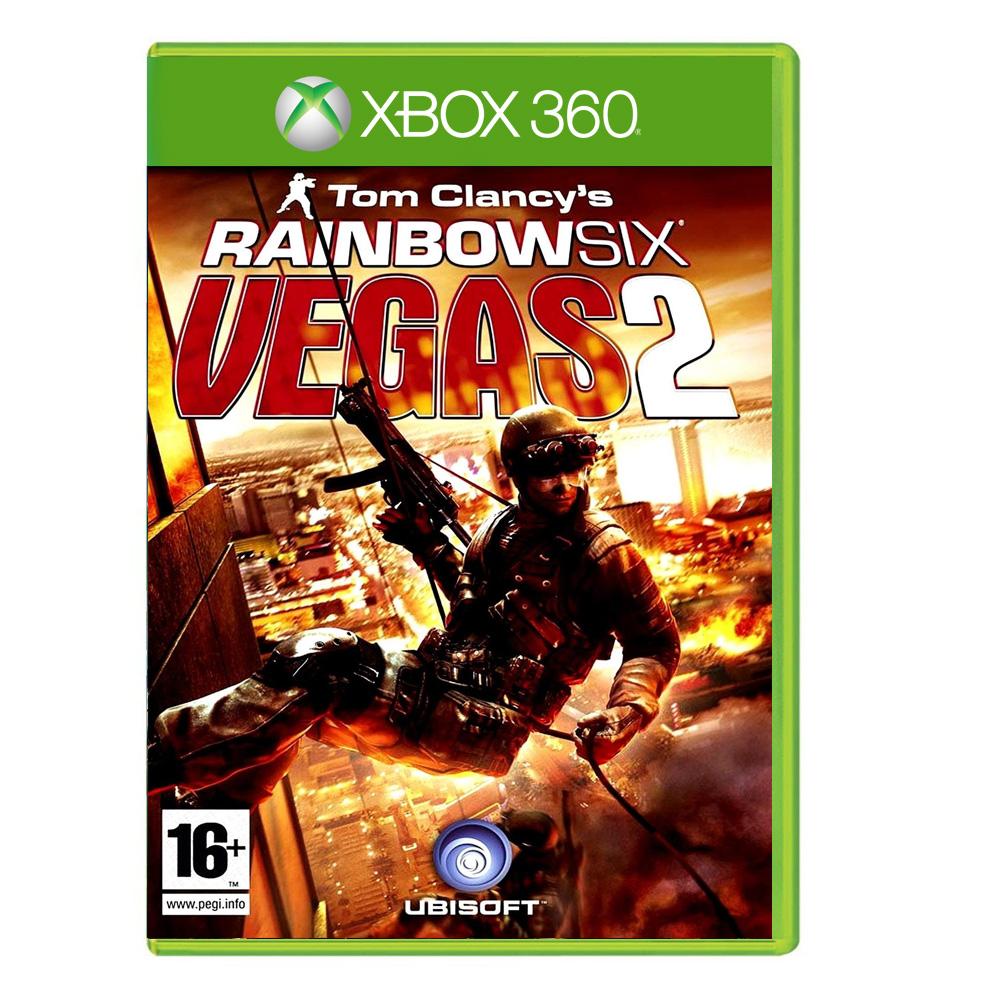 بررسی و {خرید با تخفیف}                                     بازی RAINBOWSIX VEGAS 2 مخصوص XBOX 360                             اصل