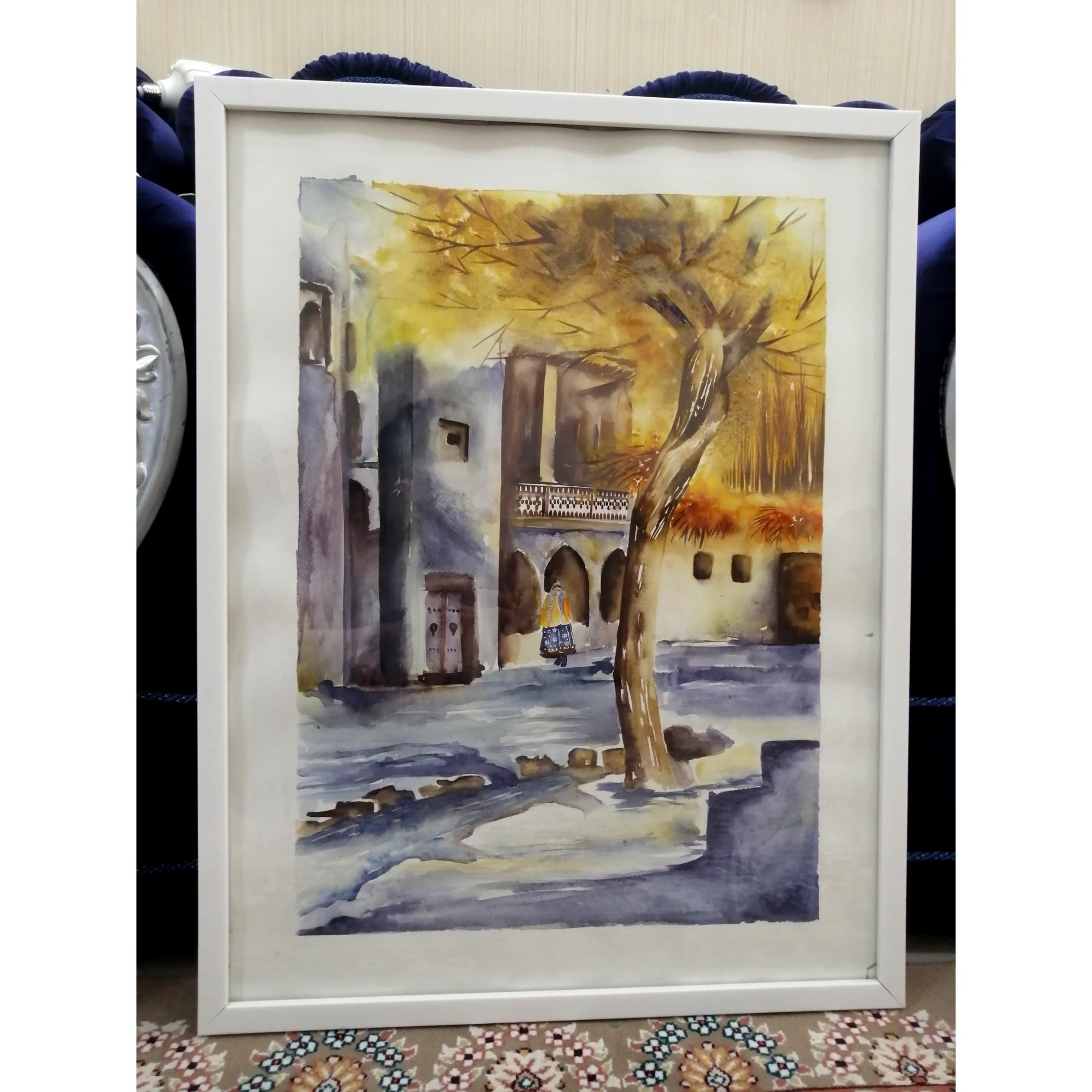 خرید                      تابلو نقاشی آبرنگ کد fr111