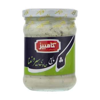 کشک مایع سیر و نعنا کامبیز - 235 گرم
