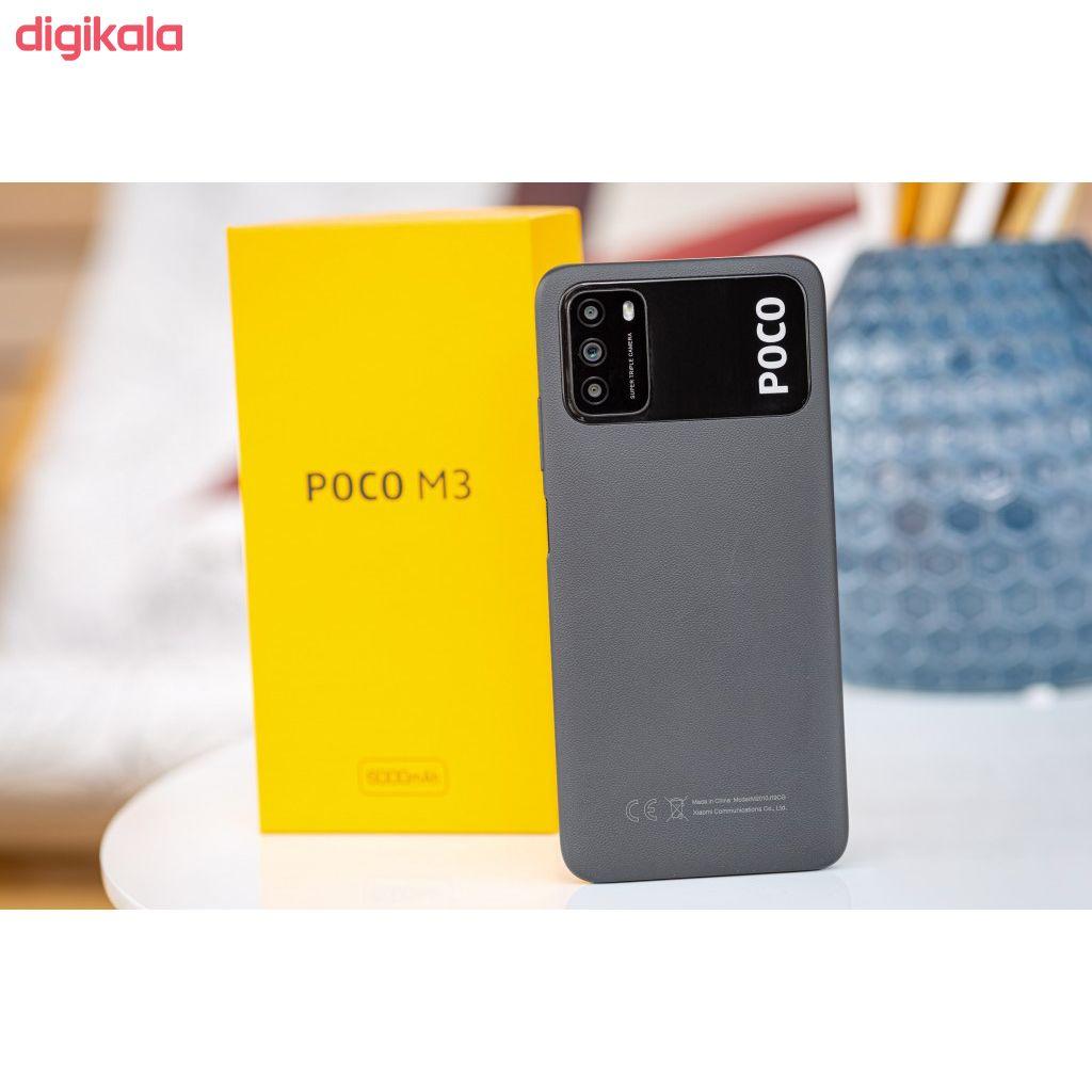 گوشی موبایل شیائومی مدل POCO M3 M2010J19CG دو سیم کارت ظرفیت 128 گیگابایت main 1 1