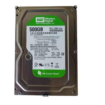 هارد دیسک اینترنال وسترن دیجیتال مدل WD500AADS ظرفیت 500 گیگابایت