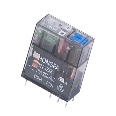 رله 8 پایه هونگفا کد HF115FP