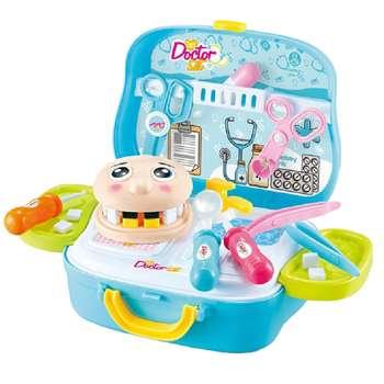ست اسباب بازی تجهیزات دندانپزشکی مدل کد QY781