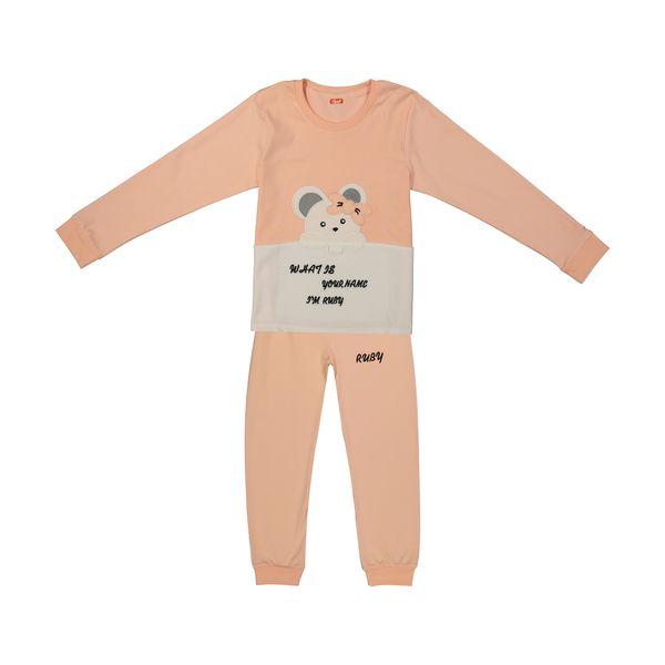 ست تی شرت و شلوار دخترانه مادر مدل 301-80