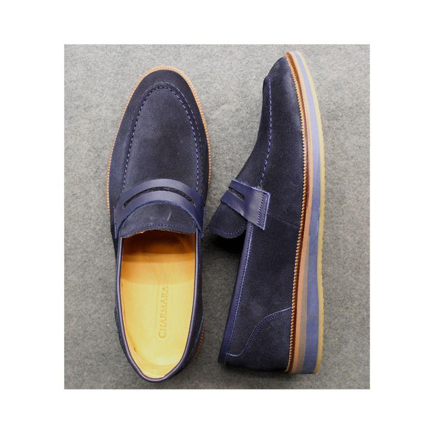 کفش روزمره مردانه چرم آرا مدل sh025 کد so -  - 11