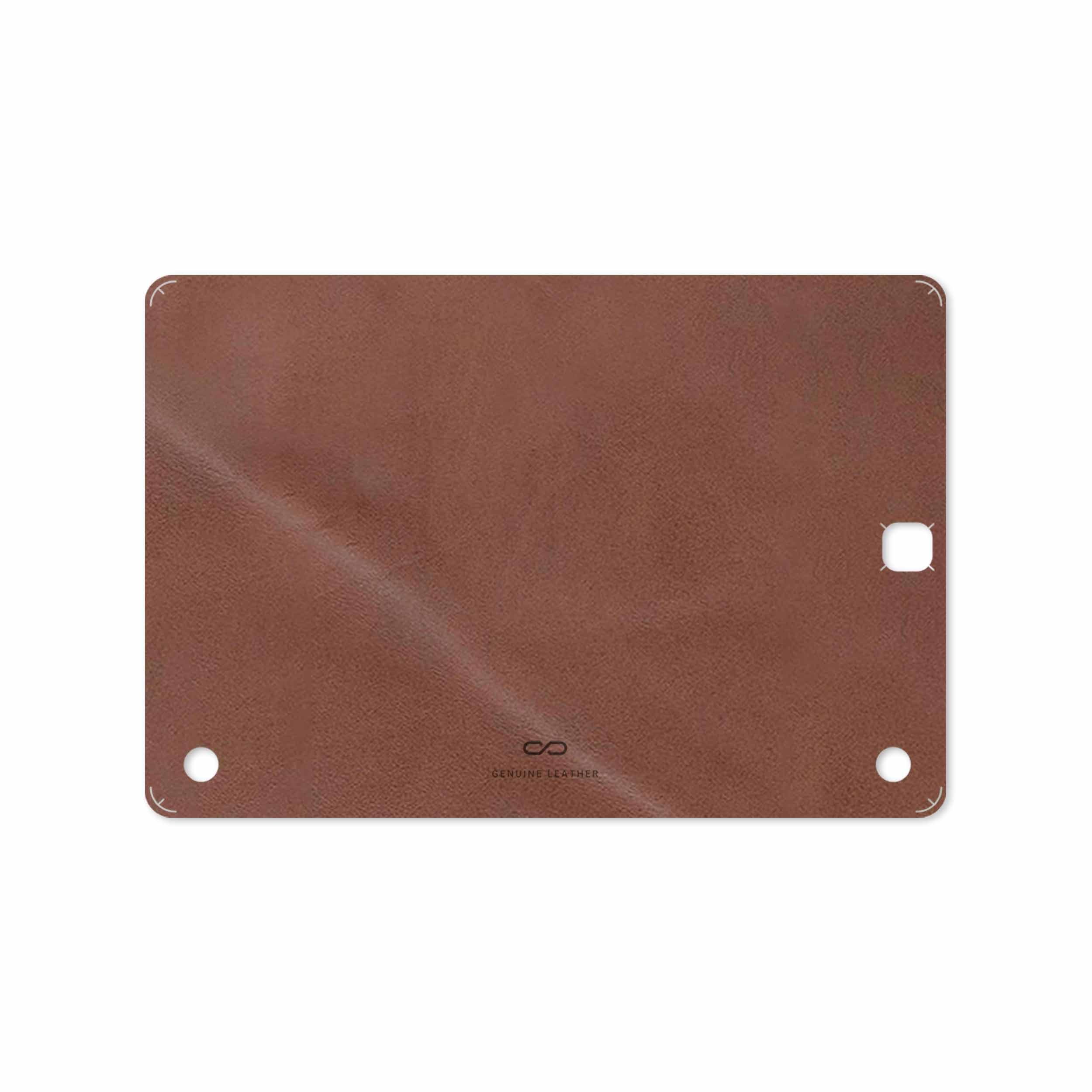 بررسی و خرید [با تخفیف]                                     برچسب پوششی ماهوت مدل Matte_Natural_Leather مناسب برای تبلت سامسونگ Galaxy Tab A 9.7 2015 T555                             اورجینال