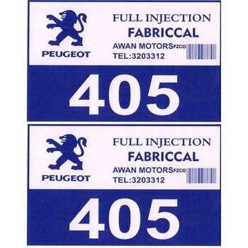 برچسب بدنه خودرو مدل  299 بسته 2 عددی