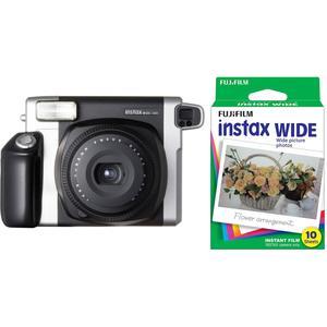 دوربین عکاسی چاپ سریع فوجی فیلم مدل Instax wide 300 به همراه فیلم چاپ سریع فوجی فیلم مدل Instax Wide Film