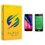 محافظ صفحه نمایش سرامیکی فلش مدل +HD مناسب برای گوشی موبایل اپل iPhone 7 Plus