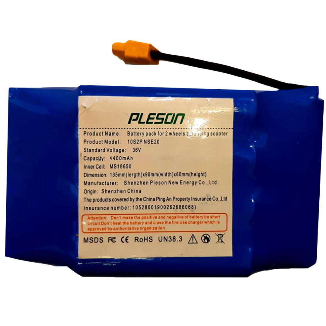 باتری اسکوتر برقی مدل pleson-2020