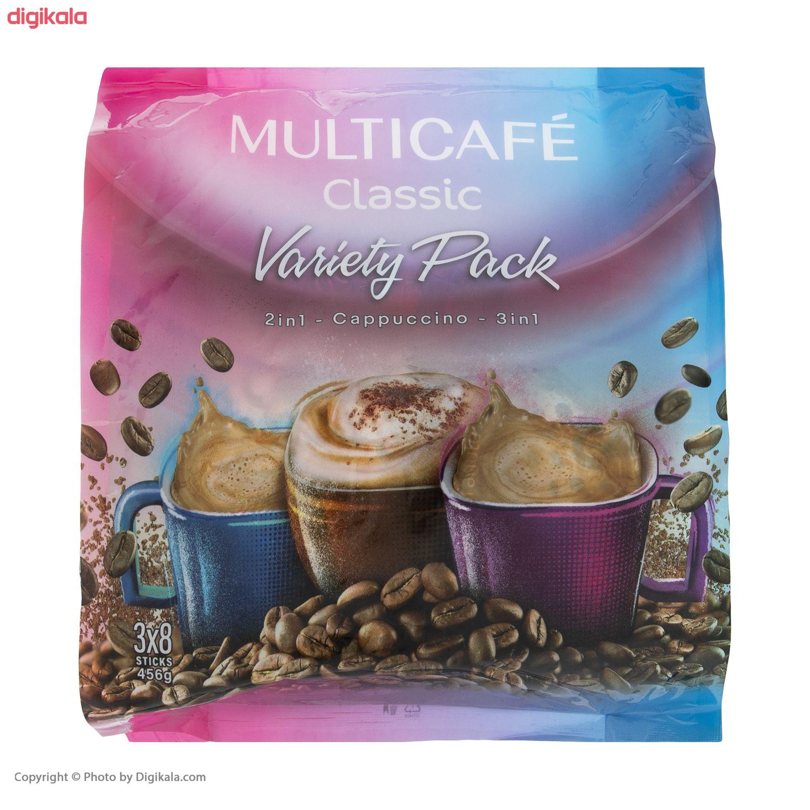 پودر قهوه فوری مخلوط کلاسیک مولتی کافه  - 18 گرم بسته 24 عددی main 1 5