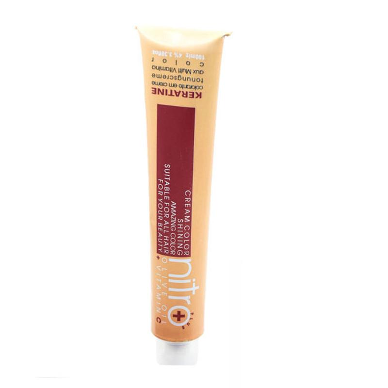 رنگ مو نیترو سری Keratine شماره 1.1 حجم 100 میلی لیتر رنگ مشکی پر کلاغی