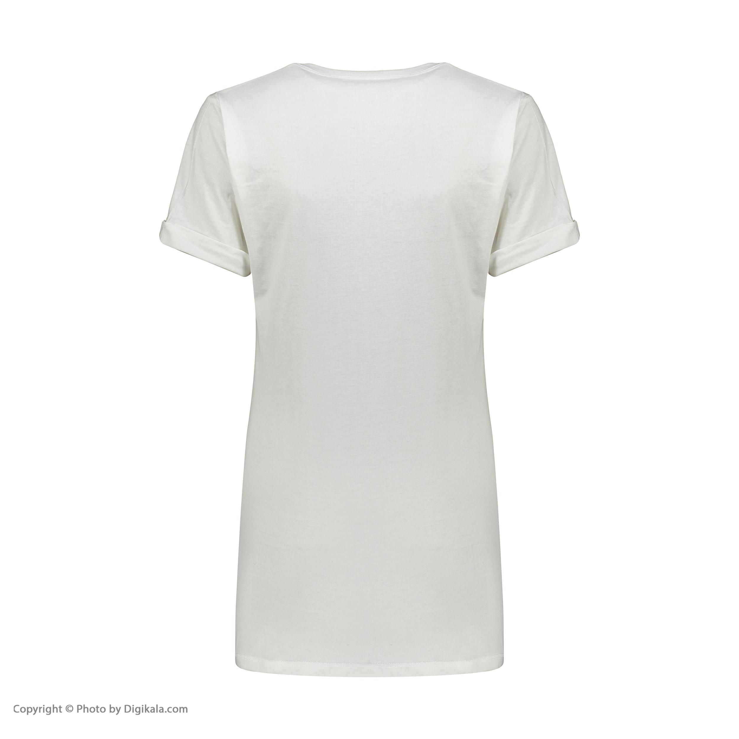 تی شرت آستین کوتاه زنانه مدل Q5
