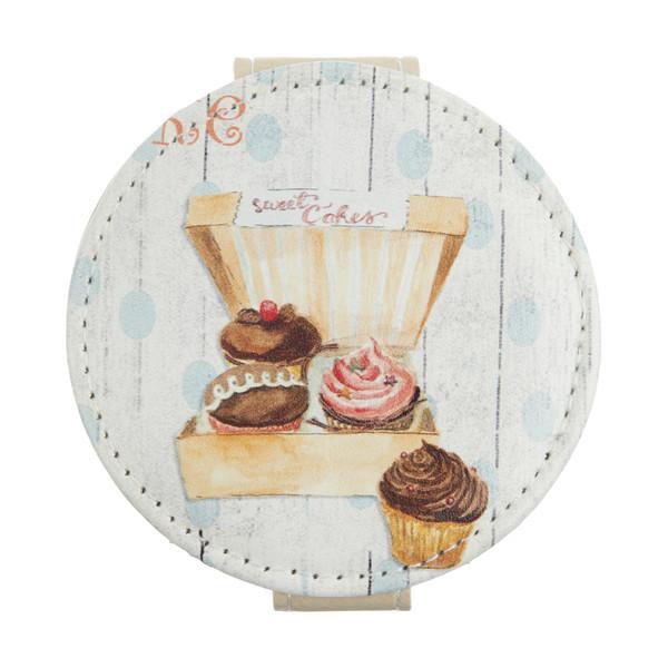 آینه جیبی طرح کاپ کیک کد 90508