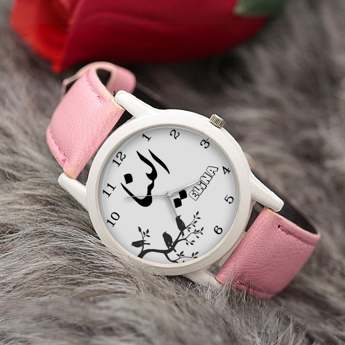 ساعت مچی عقربه ای زنانه طرح الینا کد LF3190              ارزان