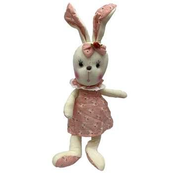 عروسک طرح خرگوش گوش دراز ارتفاع 40 سانتی متر