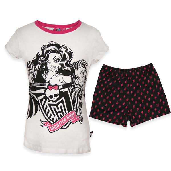 ست تی شرت و شلوارک دخترانه مانستر های مدل TSHMO118