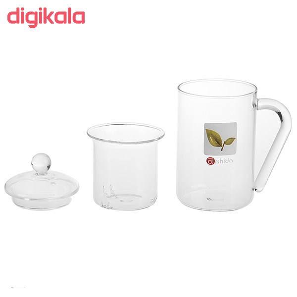 لیوان دمنوش ساز آرشیدا کد DG01 main 1 1
