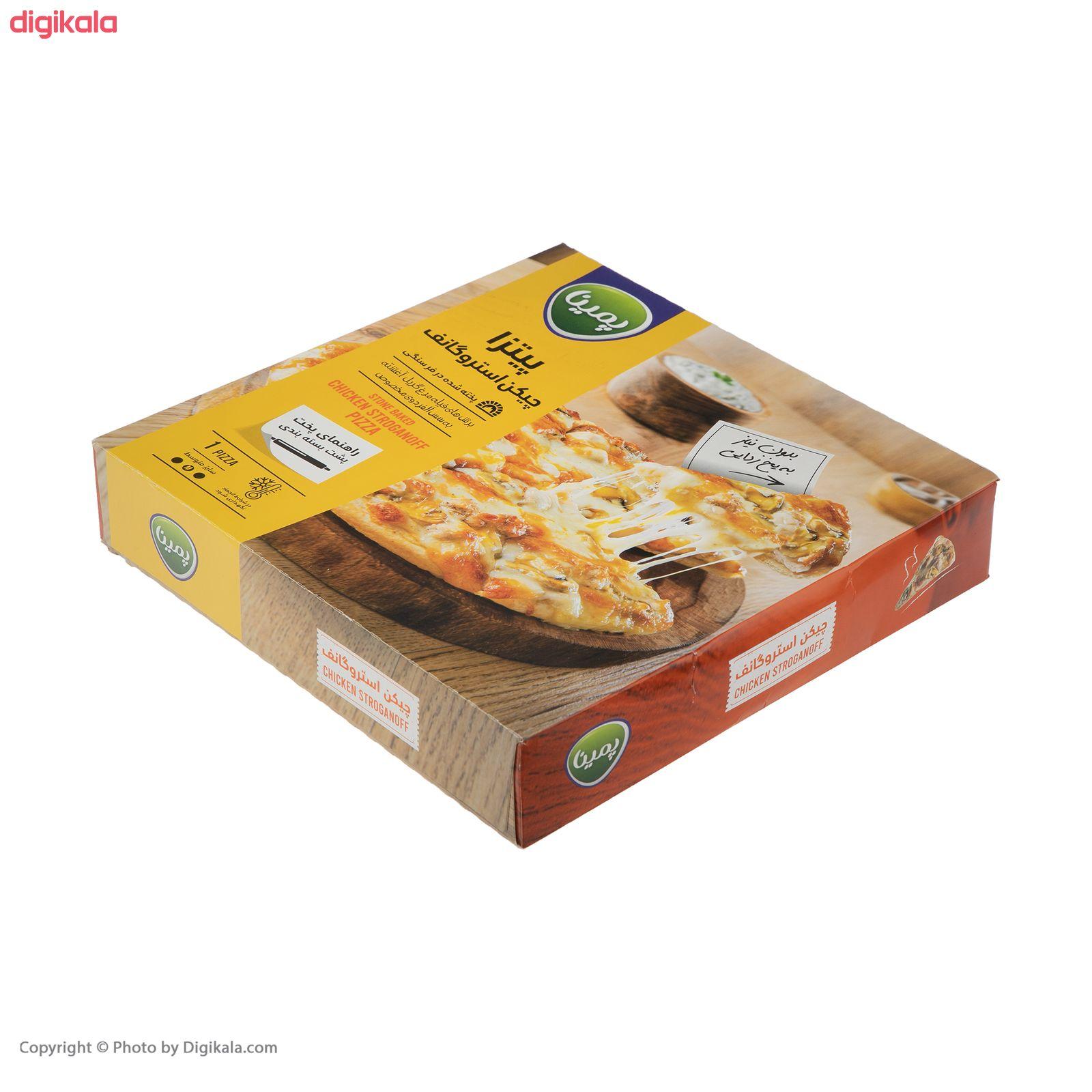 پیتزا چیکن استروگانف پمینا کاله مقدار 450 گرم main 1 1