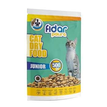 غذای خشک گربه فیدار پاتیرا مدل Junior وزن 500 گرم