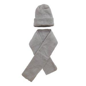 ست کلاه  و شال گردن بافتنی کد ghc4r4