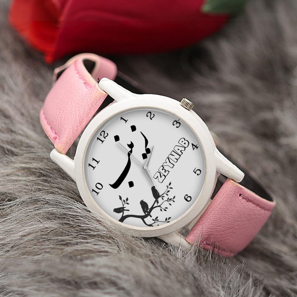 ساعت مچی عقربه ای زنانه طرح زینب کد LF3160              ارزان