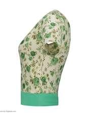 ست تی شرت و شلوارک زنانه کد 004 -  - 3