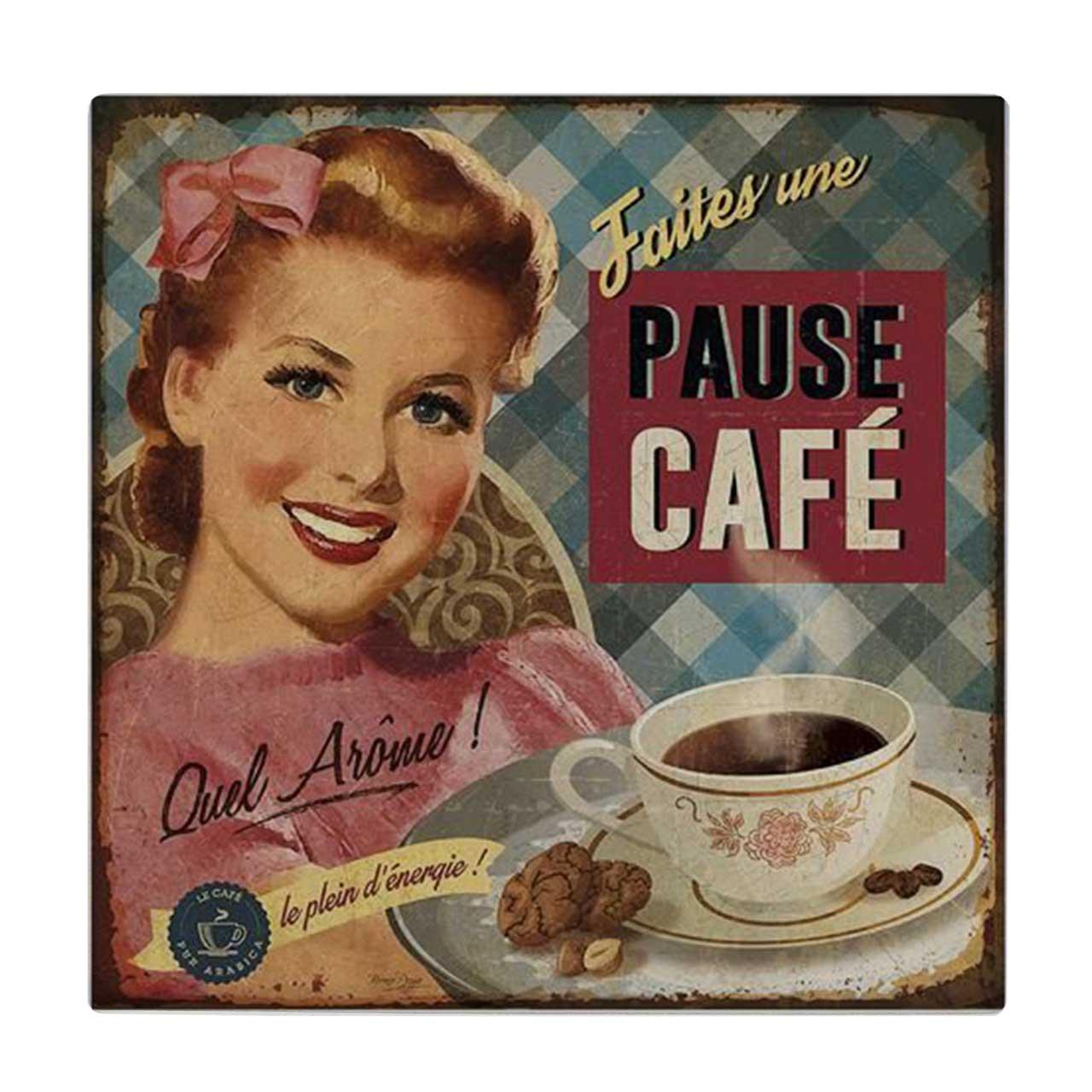 خرید                      کاشی طرح فنجان قهوه کد wk634