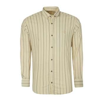 پیراهن آستین بلند مردانه مدل PVLF JAM K 9905 رنگ کرم