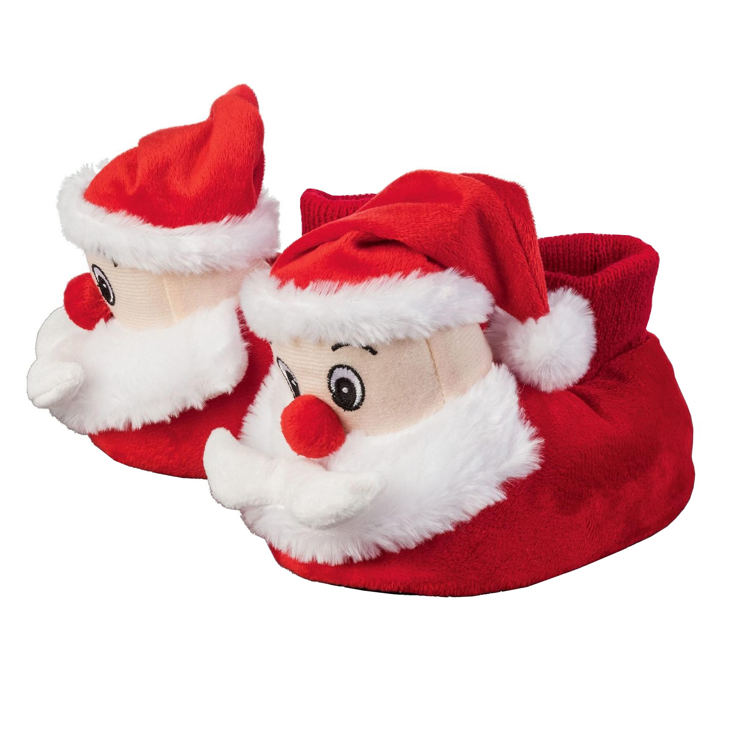 دمپایی حوله ای بچگانه لوپیلو مدل Christmas