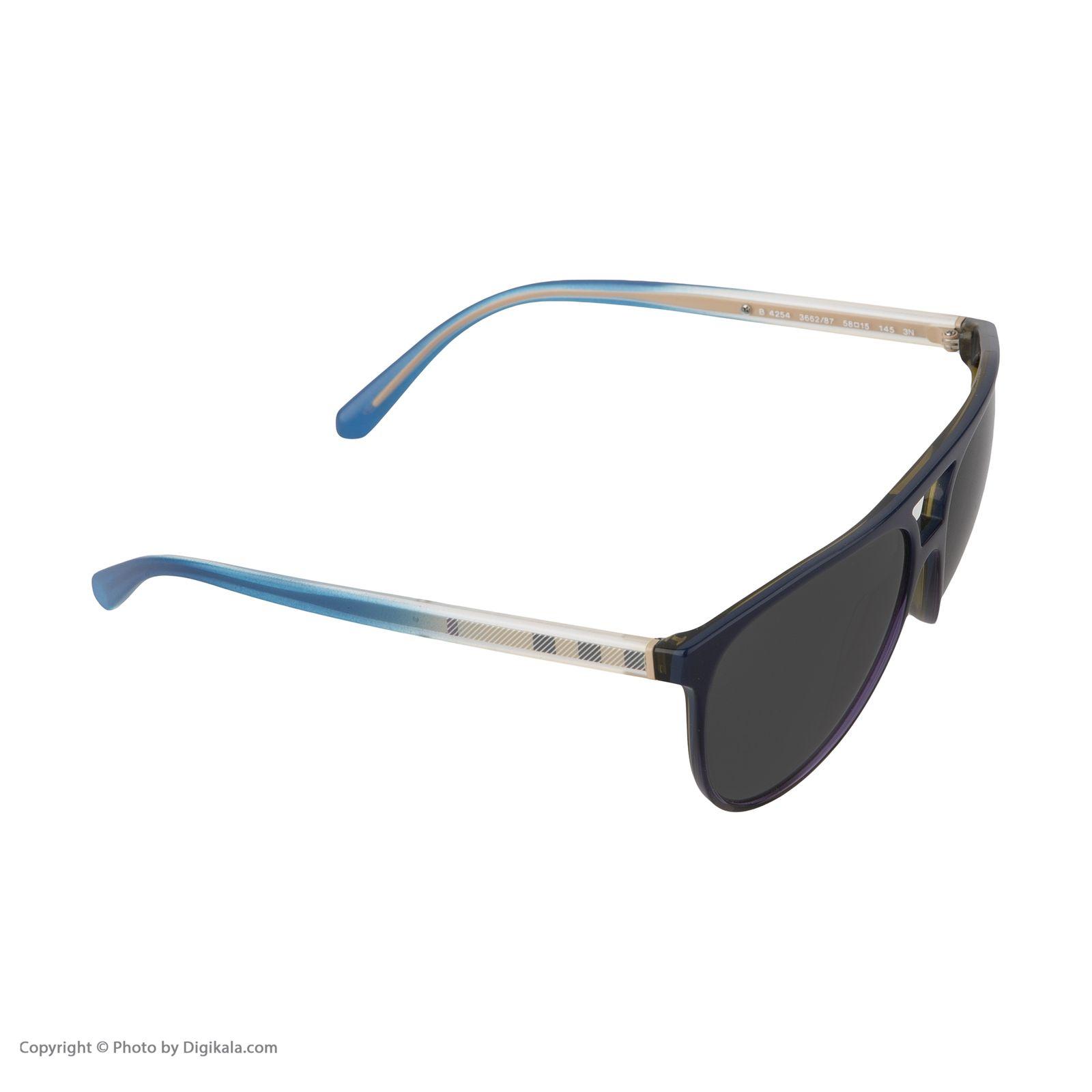 عینک آفتابی زنانه بربری مدل BE 4254S 366287 58 -  - 5