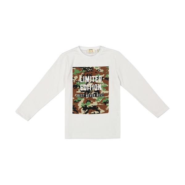 تی شرت پسرانه کوتون مدل 1kkb16870ok-000